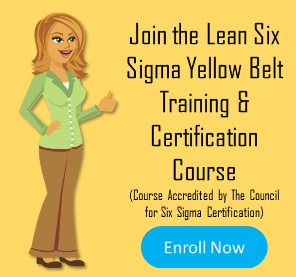 Lean Six Sigma Yellow Belt Training and Certification