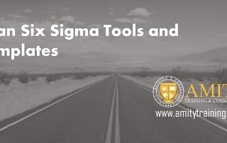 FREE Lean Six Sigma Templates