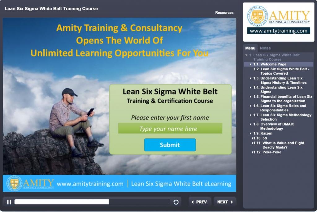 Free Six Sigma Training Free Lean Six Sigma Training