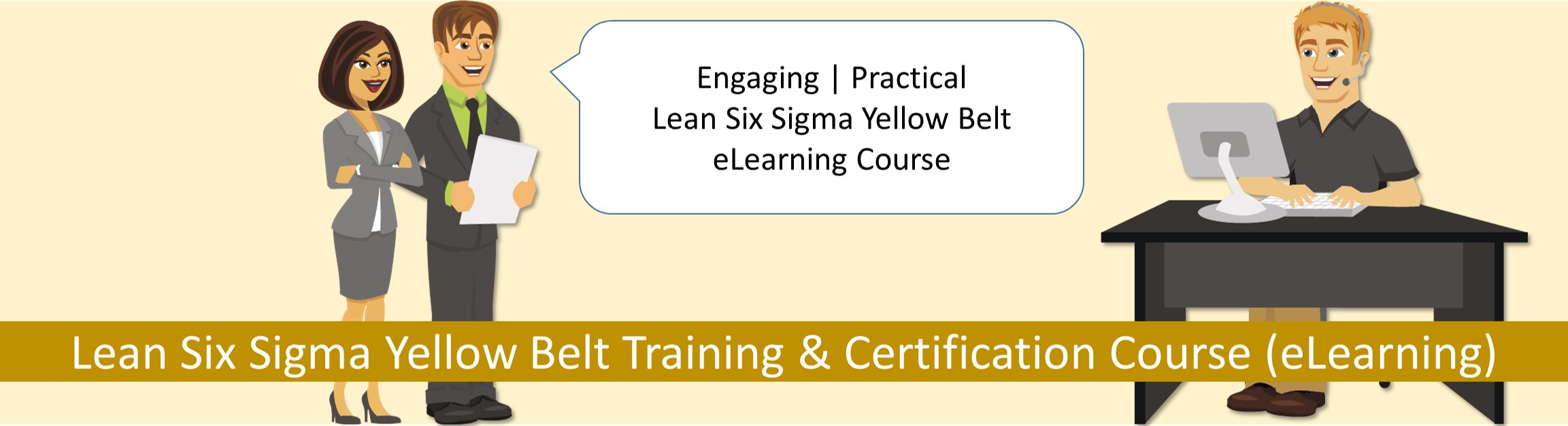 Lean six sigma yellow belt training and certification course lean six sigma yellow belt training and certification course xflitez Images