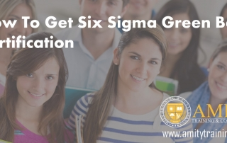 How To Get Six Sigma Green Belt Certification
