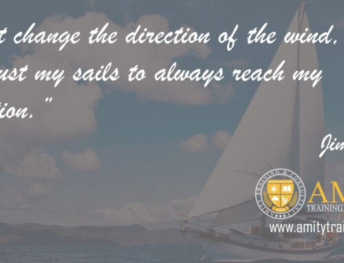 Lean Six Sigma Inspirational Quotes | I can't change the direction