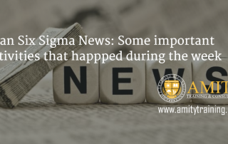 Lean Six Sigma News Some important activities that happened for the week November 30, 2015