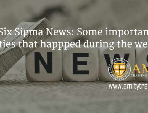 Lean Six Sigma News: Some important activities that happened for the week November 30, 2015
